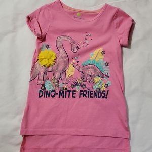 """""""Dino-mite"""" Girls t-shirt"""